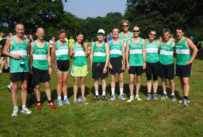 Tadworth Team Group Photo