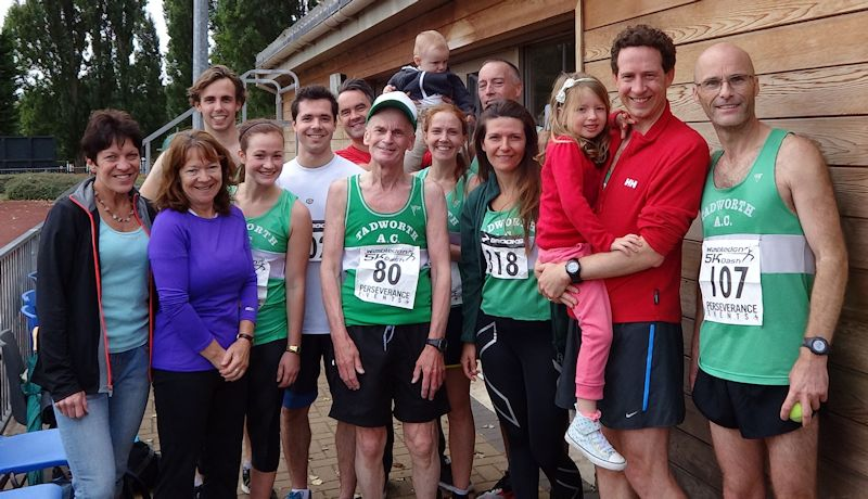Tadworth group at the Wimbledon Dash